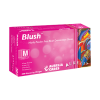 Blush PF Thin Nitrile Glove Textured